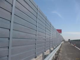 涿州小区声屏障 公路景观声屏障 吸隔声混合声屏障 组合式声屏障