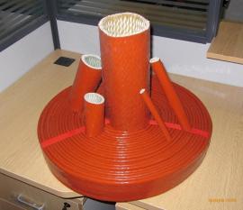 厂家供应钢铁厂硅胶防火绝缘套管