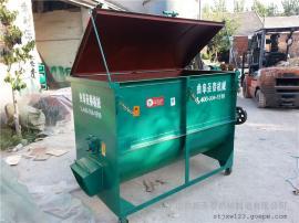 供应中大型养殖户适用卧式混料机厂家 圣泰多功能搅拌机报价