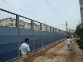 兴品厂家供应金属声屏障 空调外机消音降噪墙