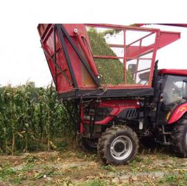 供应农场全自动青储收割机生产厂家 圣泰牌整株玉米收割机报价