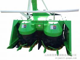 大型农场适用全自动青储收割机报价 圣泰牌整株玉米收割机型号