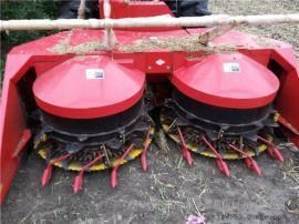 全株玉米黄猪草适用收割机厂家 圣泰整株收割机型号报价