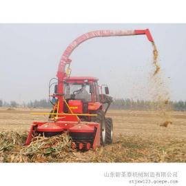 厂家直销大型青储收割机报价 圣泰牌整株玉米收割机型号