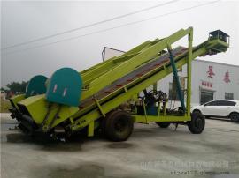 大型青贮草料取草机效果 圣泰牌移动取料机视频 产地直发
