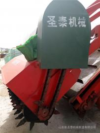 供应青储饲料厂多功能取料机厂家直销 圣泰牌大型取料机作用
