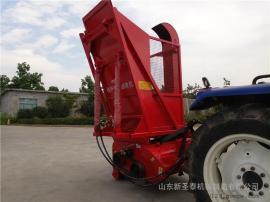 多种秸秆粉碎机器效果 圣泰牌多功能粉碎回收机作用