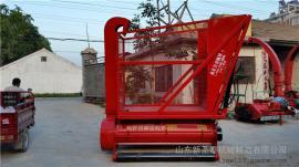 玉米秸秆回收机生产厂家 圣泰多功能粉碎回收机报价
