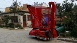 厂家直销玉米秸秆回收机型号 圣泰粉碎回收机作用