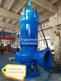 WQ高扬程污水泵社区医院脏水废水处理用泵