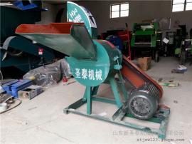 中小型青储饲料揉丝机圣泰制造 多功能玉米秸秆揉搓机作用