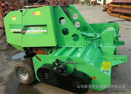 多种作物可用回收打捆机生产厂家 圣泰牌多功能粉碎打捆机报价