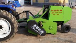 多种秸秆适用粉碎打捆机生产厂家 圣泰牌秸秆回收打捆机价格