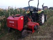 多功能玉米秸秆回收打捆机生产厂家 圣泰牌粉碎打捆一体机型号