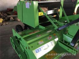 供应大型农场适用秸秆回收打捆机型号 圣泰牌粉碎打捆机报价