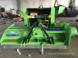 厂家直销玉米秸秆粉碎打捆一体机报价 圣泰牌多功能回收打捆机