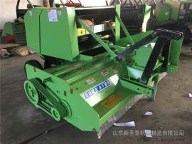 供应农场适用玉米秸秆回收打捆机厂家 圣泰牌粉碎打捆机型号