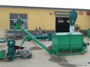 供应养殖场用多功能饲料机组厂家直销 圣泰牌颗粒机组型号