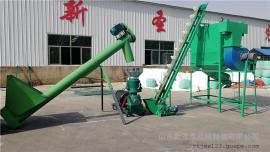 圣泰牌玉米粒饲料机组 大型秸秆饲料机组效果 免费指导