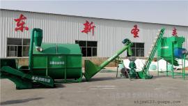 玉米秸秆可用饲料机组厂家直销 圣泰牌多功能颗粒机组效果好