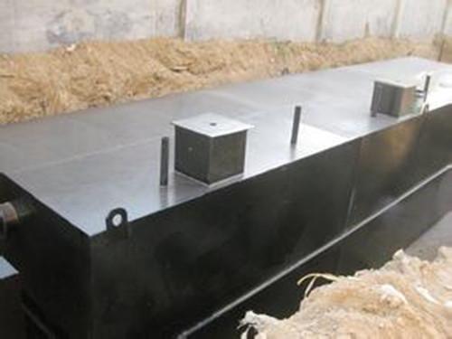 生活地埋式一体化污水处理设备规格
