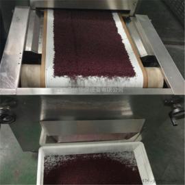 赤豆红豆微波低温烘焙设备
