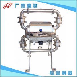 葡萄酒卫生级输送气动隔膜泵