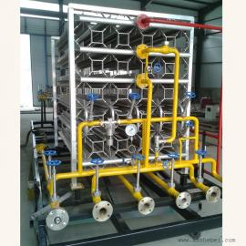 煤改气设备/lng空温式气化器/lng减压设备