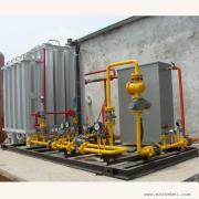 燃气锅炉专用LNG气化减压撬