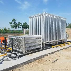 500Nm3/hLNG减压计量撬装置 lng气化调压柜 LNG减压撬