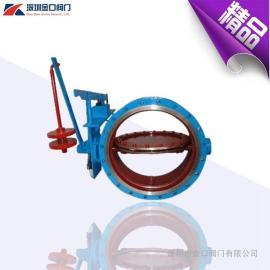 电磁式煤气切断电磁阀 DMF-0.1煤气翻板电磁阀 法兰煤气切断阀