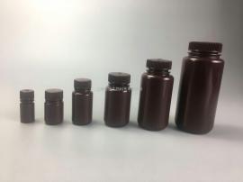 USPVI级nalgene无菌无酶无热源聚丙烯琥珀色250ml广口塑料试剂瓶