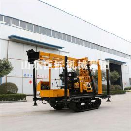 华巨履带式勘探钻机XYD-200型勘察钻探打孔机械设备
