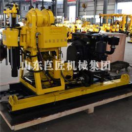 供应华夏巨匠HZ-200YY液压勘探钻机小型钻探机百米打孔机