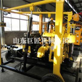 华夏巨匠XYX-130轮式勘探钻机搬迁方便油压给进提高效率