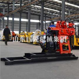 供应工厂爆款产品HZ-130YY百米地质钻探机小型液压勘探钻机