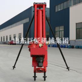厂家直供KQZ-100全吹气潜孔风镐打白垩速度快风动凿岩机械