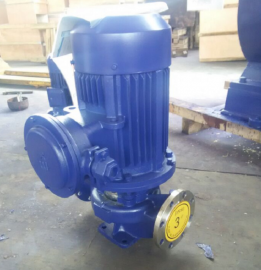IHG100-160高温耐腐蚀管道离心泵厂家 防爆不锈钢管道化工泵