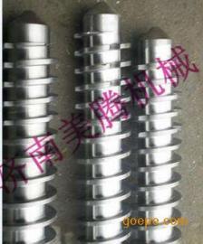 双螺杆挤压膨化机配件 机筒旋切刀螺杆配件 定制膨化机模具模头