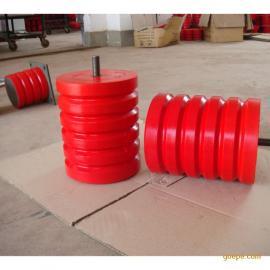 JHQ-A-4聚氨酯缓冲器 红色橡胶块缓冲器