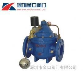 106X电动遥控浮球阀 铸钢电动遥控浮球阀 水位控制遥控浮球阀