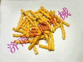 膨化糯米麻花生产机械 香脆可口休闲传统糕点加工设备