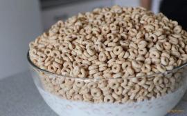无蔗糖原味大米圈谷物圈生产机械设备