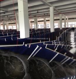 跑道式工厂化养殖南美白对虾循环水养殖设备工厂化养虾