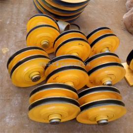 轧制滑轮组 滑轮片 起重定滑轮 导绳轮 16t起重机滑轮组 可定制