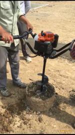 电力光缆线路改造挖坑专业必备电线杆挖坑机