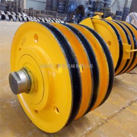 吊钩滑轮组 双梁行车滑轮组 导向轮 20t轧制滑轮组 非标定制