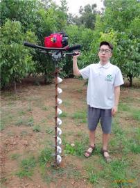 小型螺旋钻孔机多功能桩芯取土机快速掏出管桩泥土的工程神器