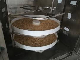 微波�S豆、黑豆、�t小豆、�G豆烘烤�C(熟化�C)