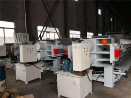 厂家供应250平方隔膜压滤机自动液压 大理石切割 打磨废水污泥